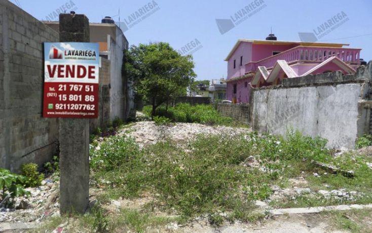 Foto de terreno habitacional en venta en, benito juárez norte, coatzacoalcos, veracruz, 1933558 no 01