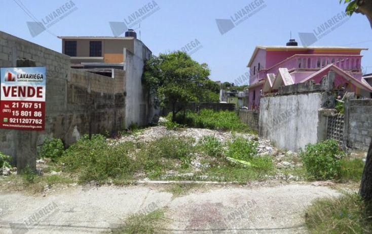 Foto de terreno habitacional en venta en, benito juárez norte, coatzacoalcos, veracruz, 1933558 no 02