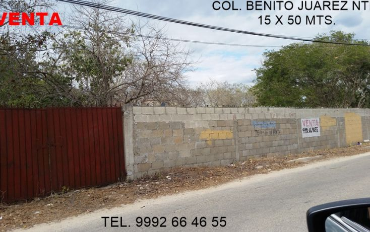 Foto de terreno habitacional en venta en, benito juárez nte, mérida, yucatán, 1927639 no 01