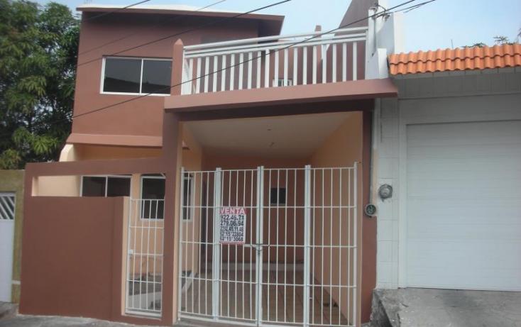 Foto de casa en venta en bienestar 110, los reyes, veracruz, veracruz, 739279 no 01