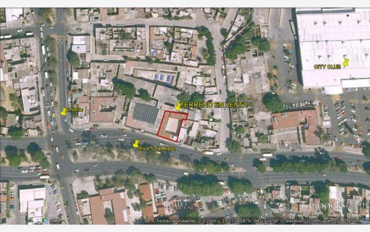 Foto de terreno comercial en venta en blvd 5 de mayo, xanenetla, puebla, puebla, 1190405 no 01