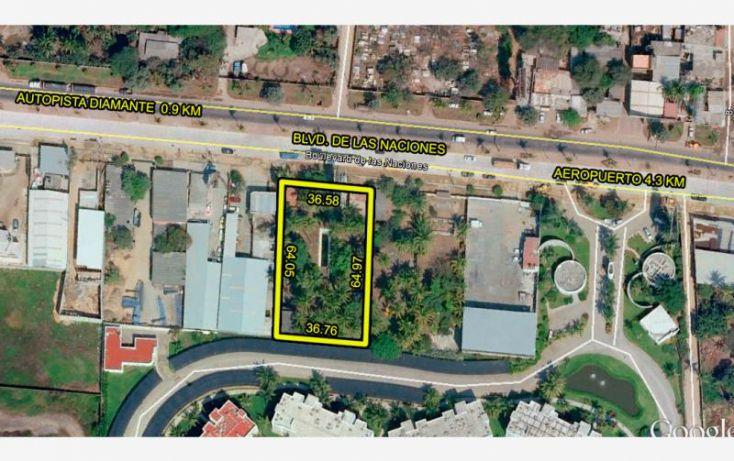 Foto de terreno habitacional en venta en blvd de las naciones, playa diamante, acapulco de juárez, guerrero, 1377863 no 03