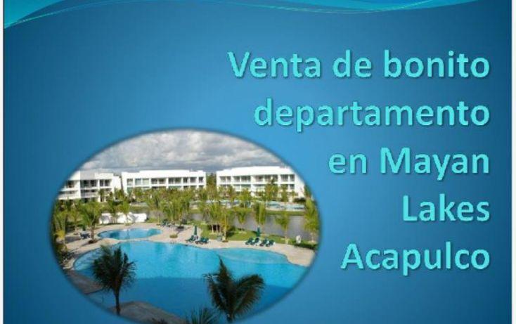 Foto de departamento en venta en blvd de las naciones, playa diamante, acapulco de juárez, guerrero, 1402105 no 01