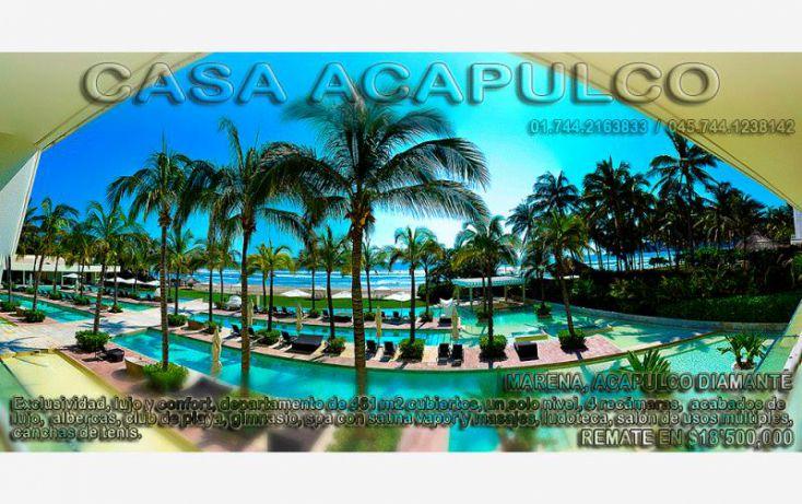 Foto de departamento en venta en blvd de las palmas, princess del marqués ii, acapulco de juárez, guerrero, 1388365 no 01