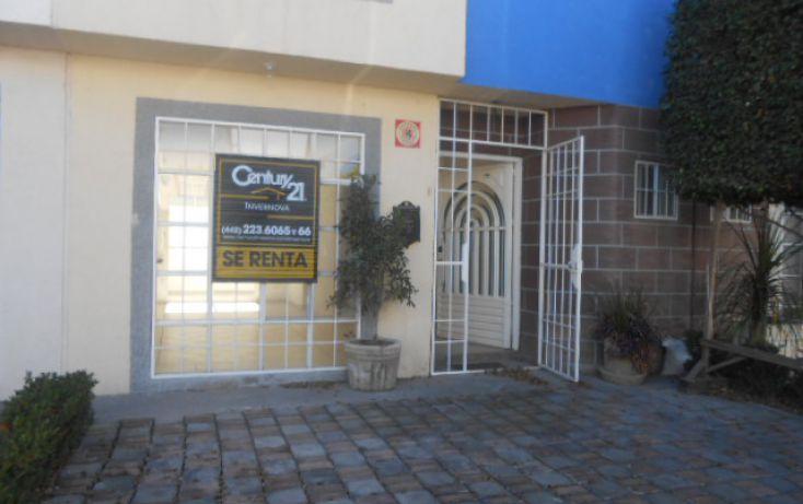 Foto de casa en renta en blvd hacienda la gloria 1201 cond alamo casa f 25, la gloria, querétaro, querétaro, 1702460 no 01