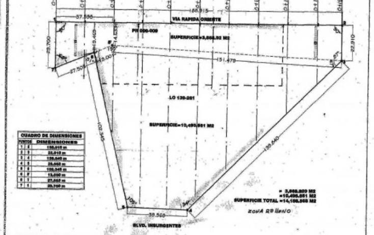 Foto de terreno comercial en venta en blvd insurgentes 1, buena vista, tijuana, baja california norte, 753557 no 02