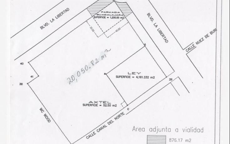Foto de terreno comercial en venta en blvd la libertad 1, la cortina, torreón, coahuila de zaragoza, 561934 no 01