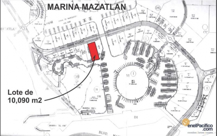 Foto de terreno habitacional en venta en blvd marina mazatlán, marina mazatlán, mazatlán, sinaloa, 371057 no 04