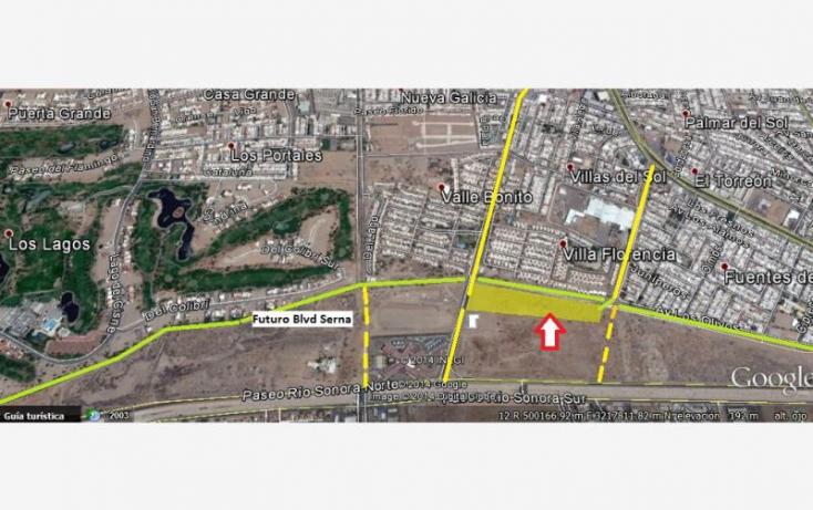 Foto de terreno comercial en venta en blvd real del arco y prolongacion blvd serna, las praderas, hermosillo, sonora, 874395 no 01