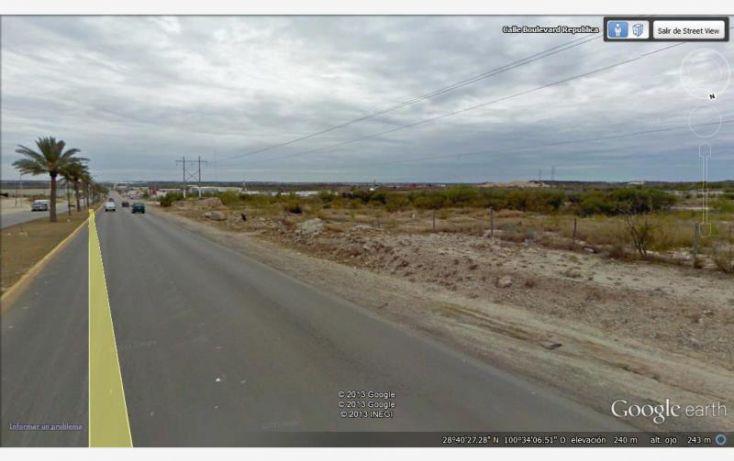 Foto de terreno comercial en venta en blvd republica, villa de fuente, piedras negras, coahuila de zaragoza, 1399325 no 01