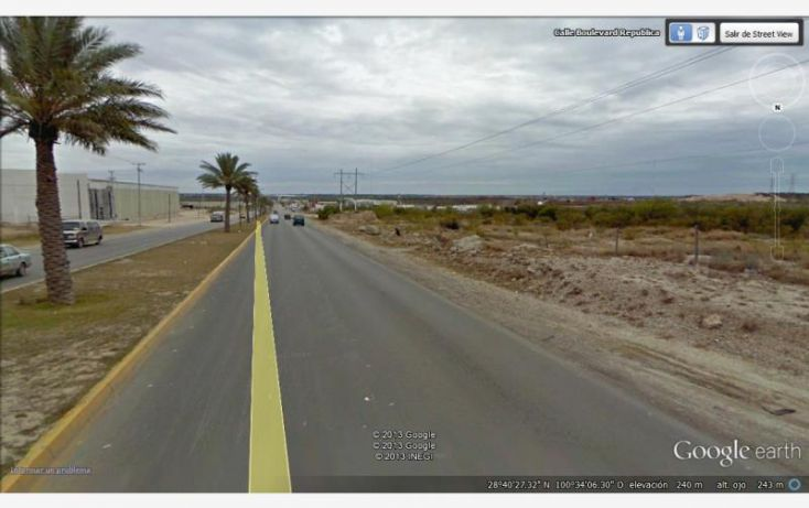 Foto de terreno comercial en venta en blvd republica, villa de fuente, piedras negras, coahuila de zaragoza, 1399325 no 03