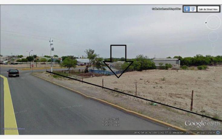 Foto de terreno comercial en venta en blvd republica y roman cepeda, suterm, piedras negras, coahuila de zaragoza, 1399349 no 03