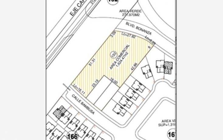 Foto de terreno comercial en venta en blvd vicente guerrero  tuxtla gutierrez, real del bosque, tuxtla gutiérrez, chiapas, 608703 no 02