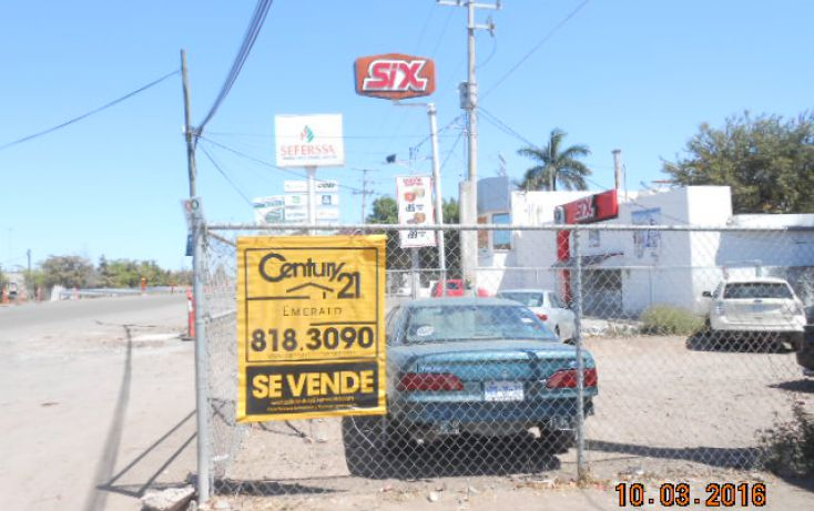 Foto de terreno habitacional en venta en blvdadolofo lopez mateos nte 4972, miguel hidalgo, ahome, sinaloa, 1717184 no 01