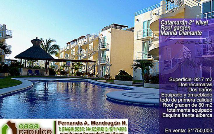 Foto de departamento en venta en blvdde las naciones, parque ecológico de viveristas, acapulco de juárez, guerrero, 1379737 no 01