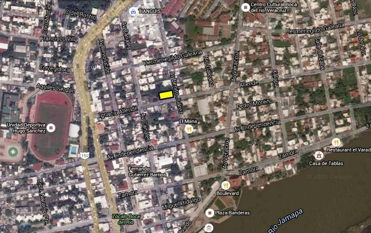 Foto de terreno comercial en venta en  , boca del río centro, boca del río, veracruz de ignacio de la llave, 1128087 No. 01
