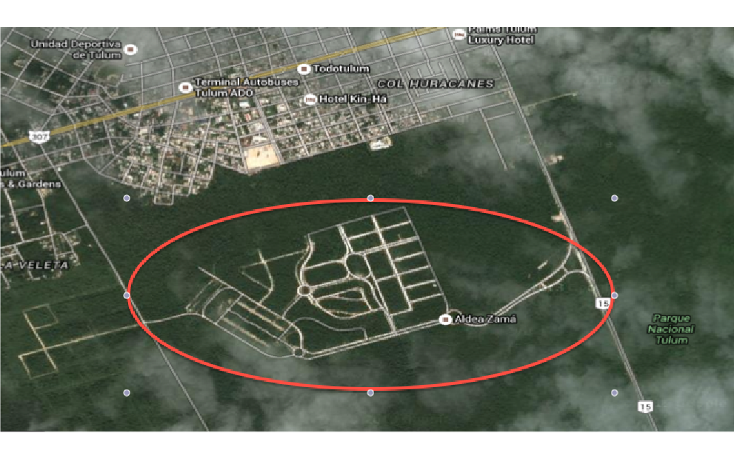 Foto de terreno habitacional en venta en, boca paila, tulum, quintana roo, 1272565 no 02