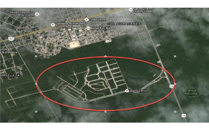 Foto de terreno habitacional en venta en  , boca paila, tulum, quintana roo, 1561968 No. 02