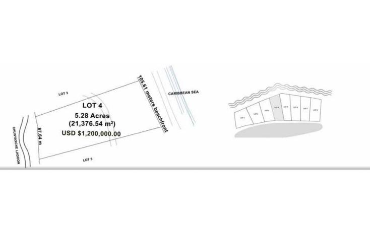 Foto de terreno habitacional en venta en  , boca paila, tulum, quintana roo, 1776128 No. 03