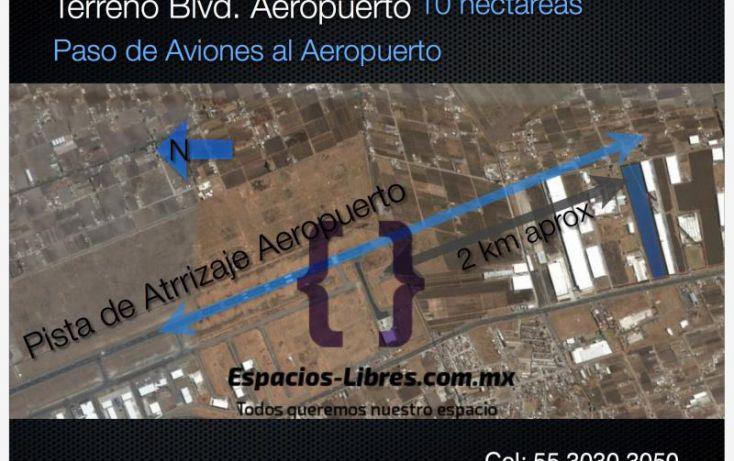 Foto de terreno industrial en renta en boluevard aeropuerto miguel alemán, toluca lic adolfo lópez mateos, toluca, estado de méxico, 1473819 no 02