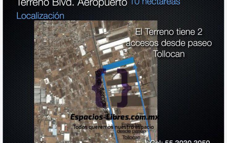 Foto de terreno industrial en renta en boluevard aeropuerto miguel alemán, toluca lic adolfo lópez mateos, toluca, estado de méxico, 1473819 no 03