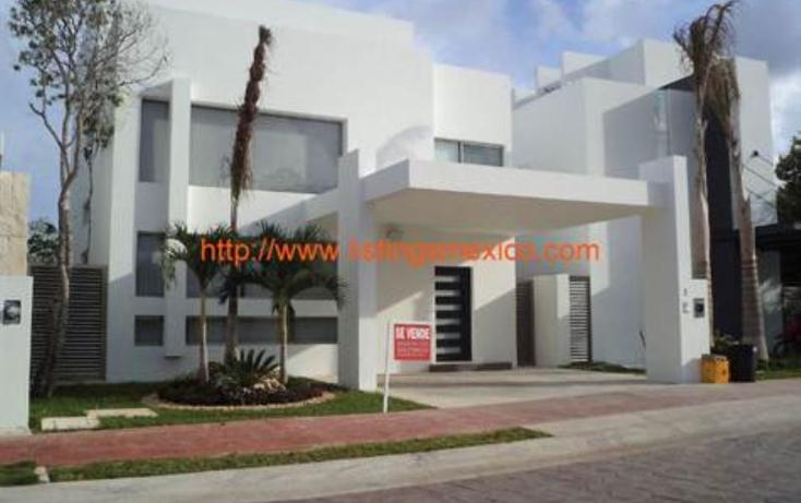 Foto de casa en venta en bonampak 1, canc?n centro, benito ju?rez, quintana roo, 480707 No. 01