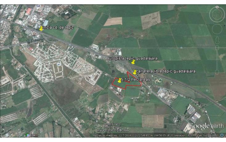 Foto de terreno habitacional en venta en  , bonaterra, tepic, nayarit, 1416925 No. 06