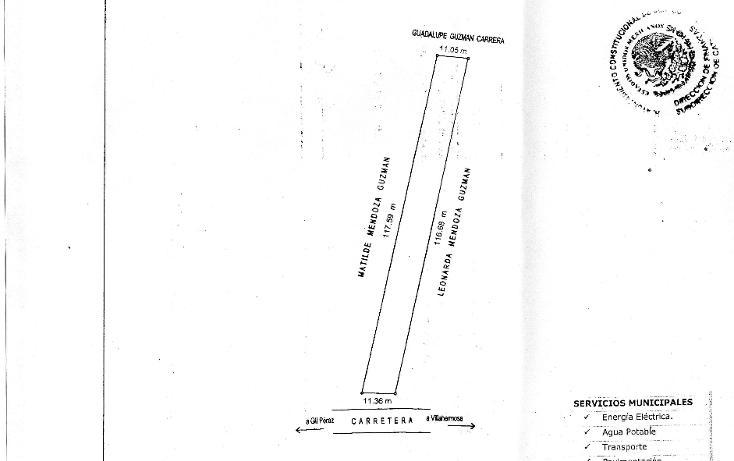 Foto de terreno comercial en venta en  , boquerón 1a sección (san pedro), centro, tabasco, 1120587 No. 04