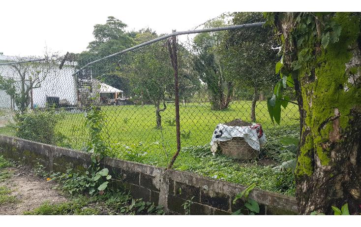 Foto de terreno comercial en venta en  , boquerón 4a sección (laguna nueva), centro, tabasco, 1132655 No. 01