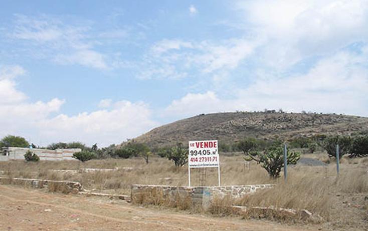 Foto de terreno habitacional en venta en  , bordo blanco, tequisquiapan, querétaro, 1736946 No. 01