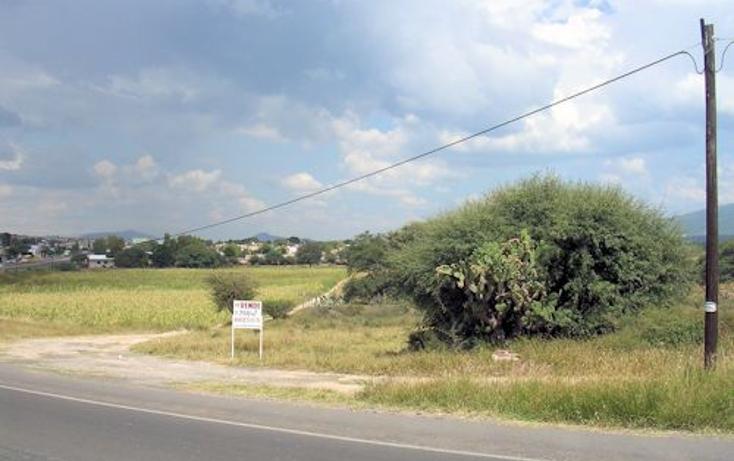 Foto de terreno habitacional en venta en  , bordo blanco, tequisquiapan, querétaro, 1776988 No. 01