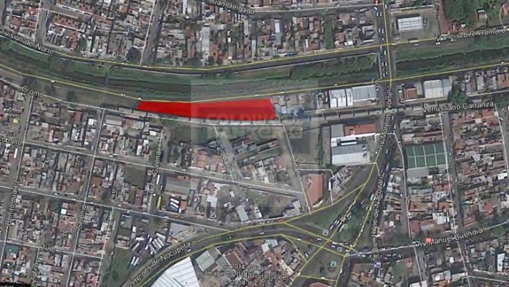 Foto de terreno habitacional en venta en  1, industrial, morelia, michoacán de ocampo, 789905 No. 01