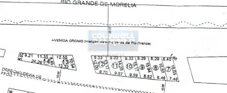 Foto de terreno habitacional en venta en  1, industrial, morelia, michoacán de ocampo, 789905 No. 05