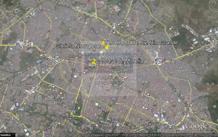 Foto de terreno habitacional en venta en bordo del ro 1, industrial, morelia, michoacán de ocampo, 789905 no 03