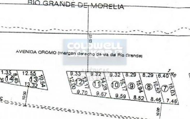 Foto de terreno habitacional en venta en bordo del ro 1, industrial, morelia, michoacán de ocampo, 789905 no 05