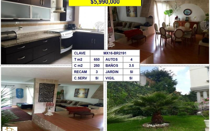 Foto de casa en venta en  , bosque esmeralda, atizap?n de zaragoza, m?xico, 1727286 No. 01