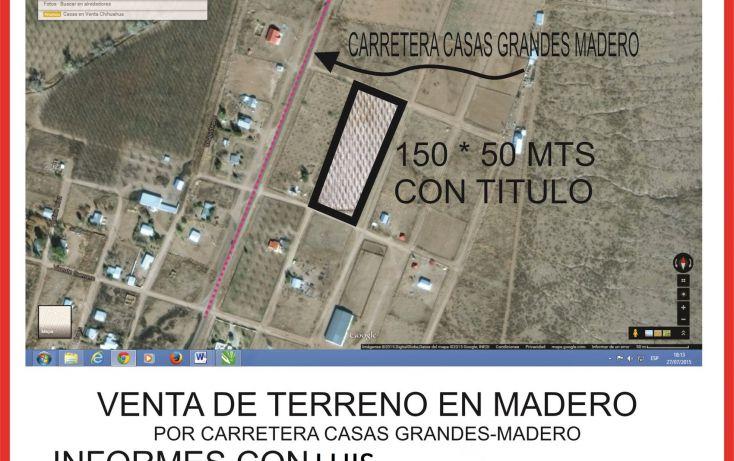 Foto de terreno habitacional en venta en, bosque real, chihuahua, chihuahua, 1683589 no 01