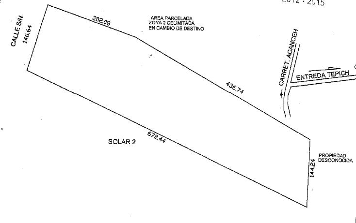 Foto de terreno habitacional en venta en  , bosques de kanasín, kanasín, yucatán, 2011562 No. 01