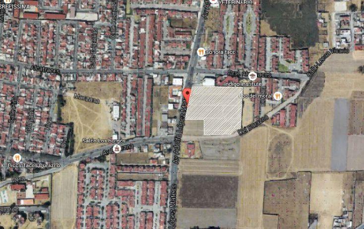 Foto de terreno comercial en venta en, bosques de metepec, metepec, estado de méxico, 1831680 no 01