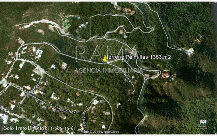 Foto de terreno habitacional en venta en, bosques de san ángel sector palmillas, san pedro garza garcía, nuevo león, 2008294 no 01