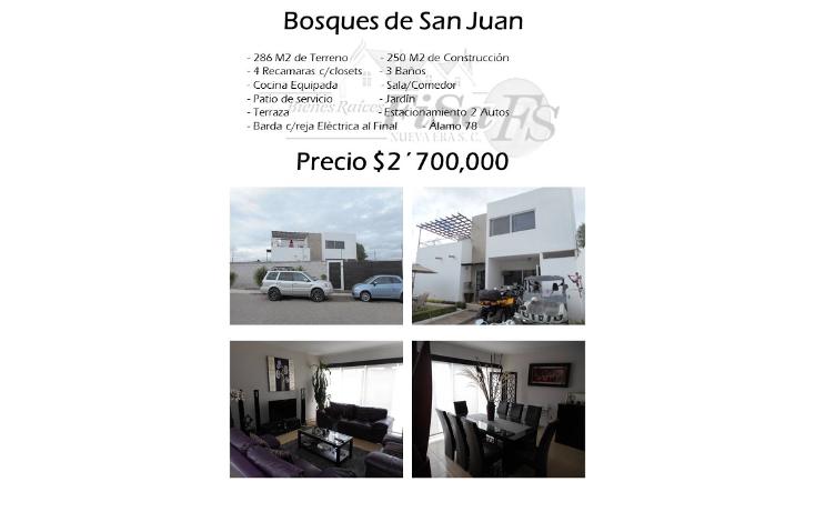Foto de casa en venta en  , bosques de san juan, san juan del río, querétaro, 1089219 No. 01