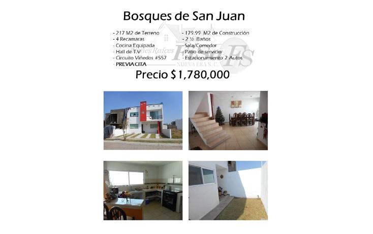 Foto de casa en venta en  , bosques de san juan, san juan del río, querétaro, 1503669 No. 01