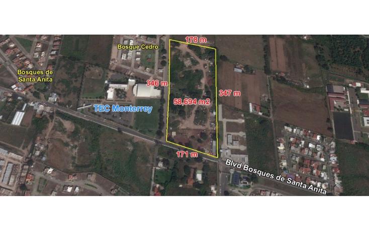 Foto de terreno comercial en venta en  , bosques de santa anita, tlajomulco de z??iga, jalisco, 2034570 No. 04