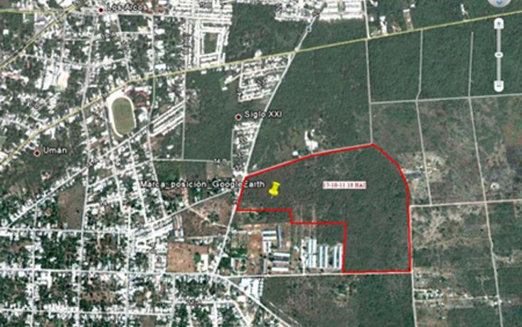 Foto de terreno habitacional en venta en  , bosques de uman, um?n, yucat?n, 1066769 No. 02
