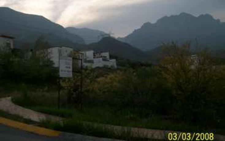 Foto de terreno habitacional en venta en  , bosques de valle alto 2 sector, monterrey, nuevo león, 1067783 No. 02