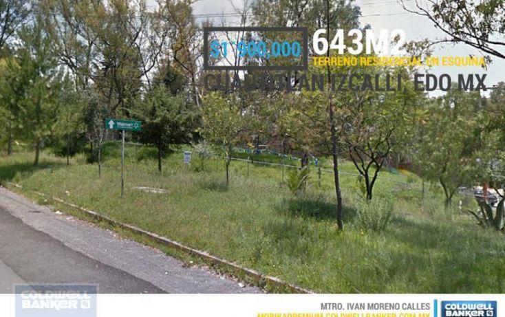 Foto de terreno habitacional en venta en bosques de viena, bosques del lago, cuautitlán izcalli, estado de méxico, 2014094 no 01