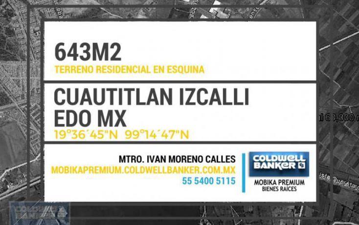 Foto de terreno habitacional en venta en bosques de viena, bosques del lago, cuautitlán izcalli, estado de méxico, 2014094 no 03