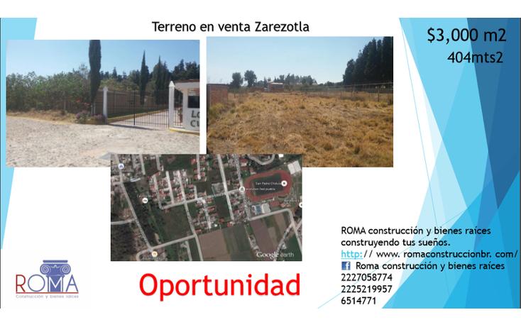 Foto de terreno habitacional en venta en  , bosques de zerezotla, san pedro cholula, puebla, 1680200 No. 06