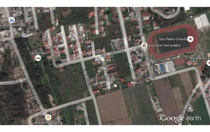 Foto de terreno habitacional en venta en  , bosques de zerezotla, san pedro cholula, puebla, 1680200 No. 07