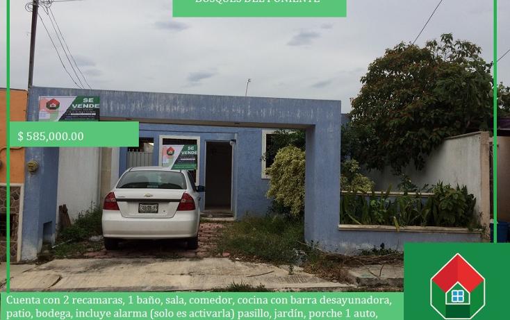 Foto de casa en venta en  , bosques del poniente, mérida, yucatán, 1554888 No. 01